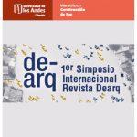 1er Simposio Internacional Revista Dearq