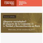 Seminario DePolítica ¿Reparar sociedades?
