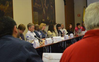 Reunión de la Red Justicia y Desarrollo en la Universidad de los Andes
